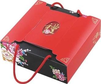 【蘿蒂烘焙坊】 牛軋雪花酥禮盒18入/盒(驚爆價~滿16盒一盒只要200元)~超水禮盒