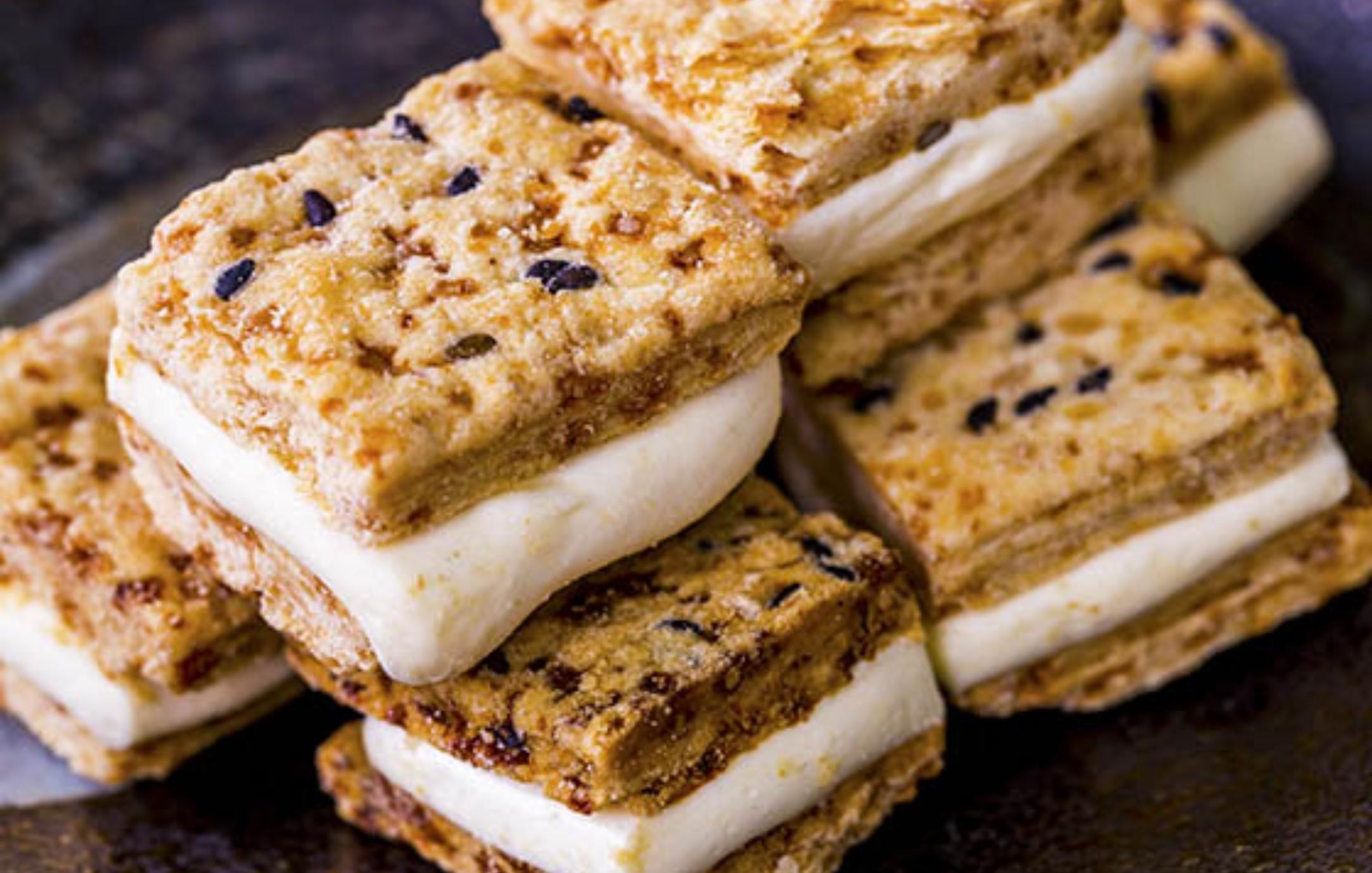 【蘿蒂烘焙坊】爆漿牛軋糖方塊一口酥 (低糖/低熱量)/12包免運組(即日滿15包送1包呦)(可備註加購手提紙袋2元)