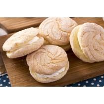 【蘿蒂烘焙坊】純手作mini夾心蛋糕派 .台式馬卡龍.(低糖/低熱量)(原味)/4包免運組