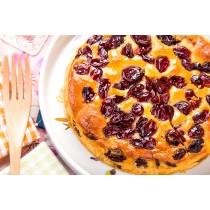 【蘿蒂烘焙坊】養生低糖經典蔓越莓蛋糕預購220元(滿3000免運)