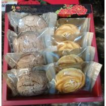 【蘿蒂烘焙坊】純手作 養生堅果塔8入+乳酪酥8入 共16入/盒(525元)