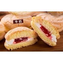 【蘿蒂烘焙坊】純手作mini夾心蛋糕派 .台式馬卡龍.(低糖/低熱量)(原味)