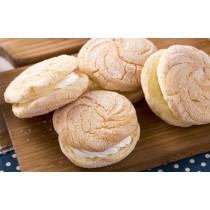 【蘿蒂烘焙坊】純手作mini夾心蛋糕派 .台式馬卡龍.(低糖/低熱量)(可可)(原味)/8包免運組