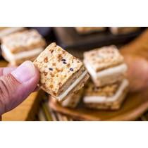 【蘿蒂烘焙坊】爆漿牛軋糖方塊一口酥 (低糖/低熱量)/8包免運組   (即日滿20包送1包呦)(可備註加購手提紙袋5元)